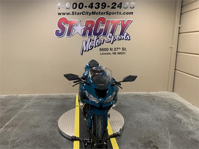 2021 Kawasaki Ninja ZX-6R ABS at Star City Motor Sports