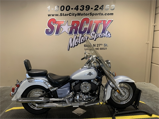2002 YAMAHA XVS65AP-W at Star City Motor Sports