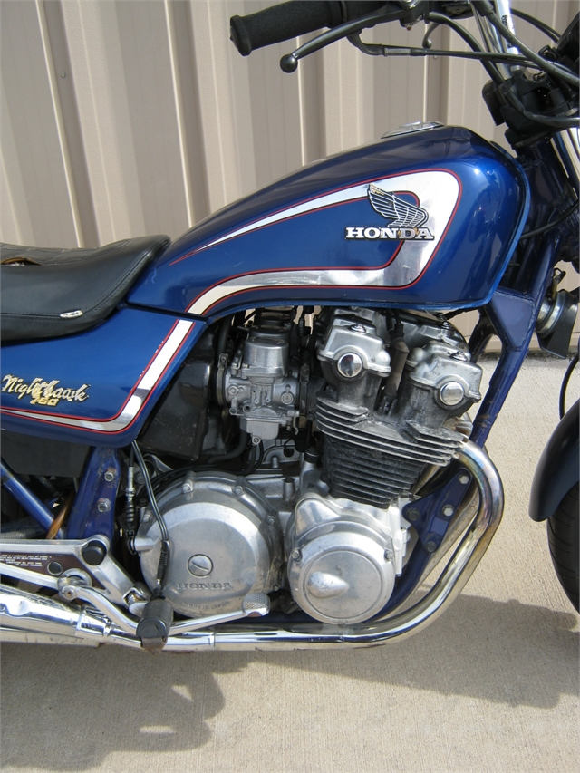 1982 Honda CB750SC Nighthawk at Brenny's Motorcycle Clinic, Bettendorf, IA 52722