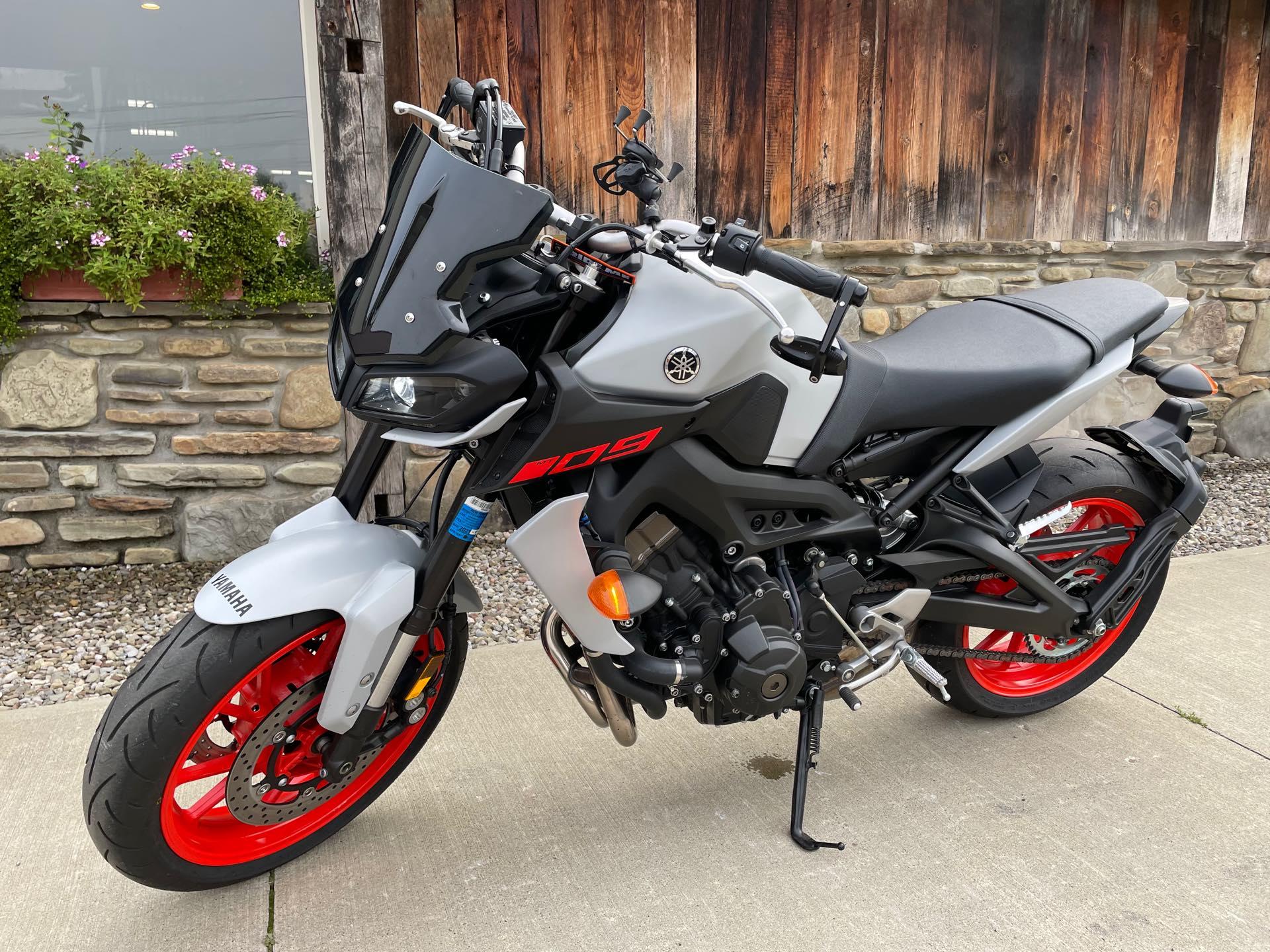2020 Yamaha MT 09 at Arkport Cycles