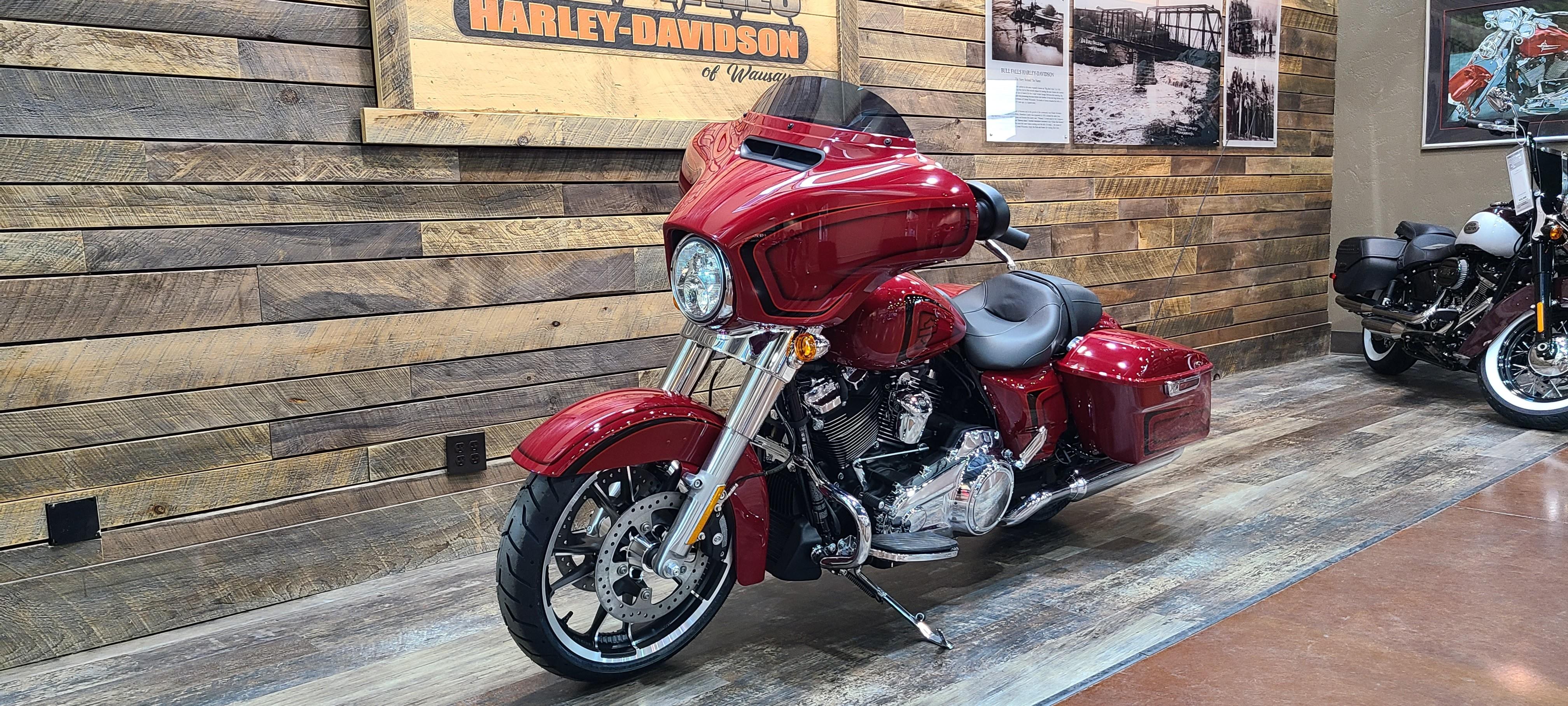 2021 Harley-Davidson Touring Street Glide at Bull Falls Harley-Davidson