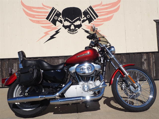 2008 Harley-Davidson Sportster 883 Custom at Loess Hills Harley-Davidson