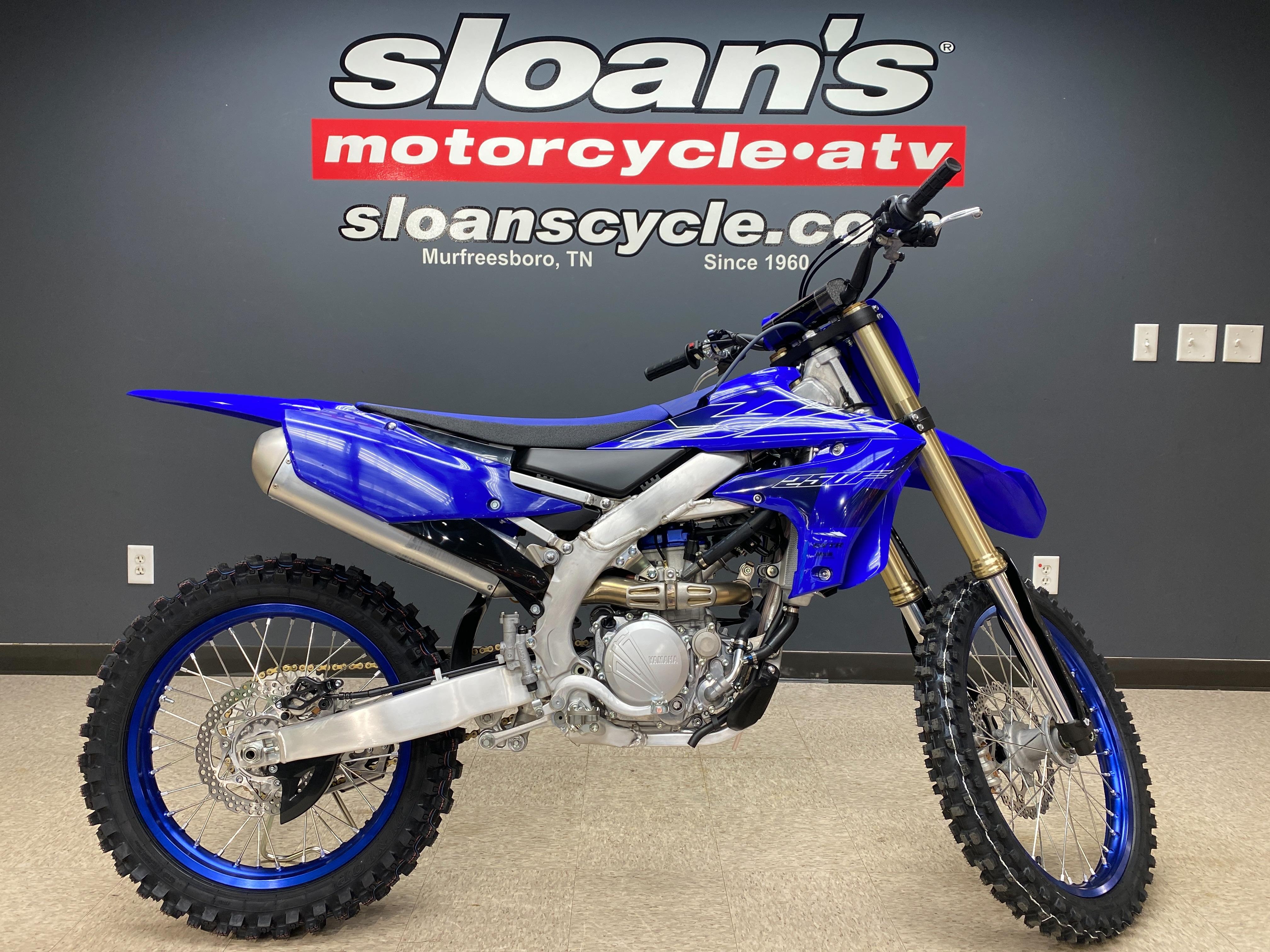 2022 Yamaha YZ 250F at Sloans Motorcycle ATV, Murfreesboro, TN, 37129