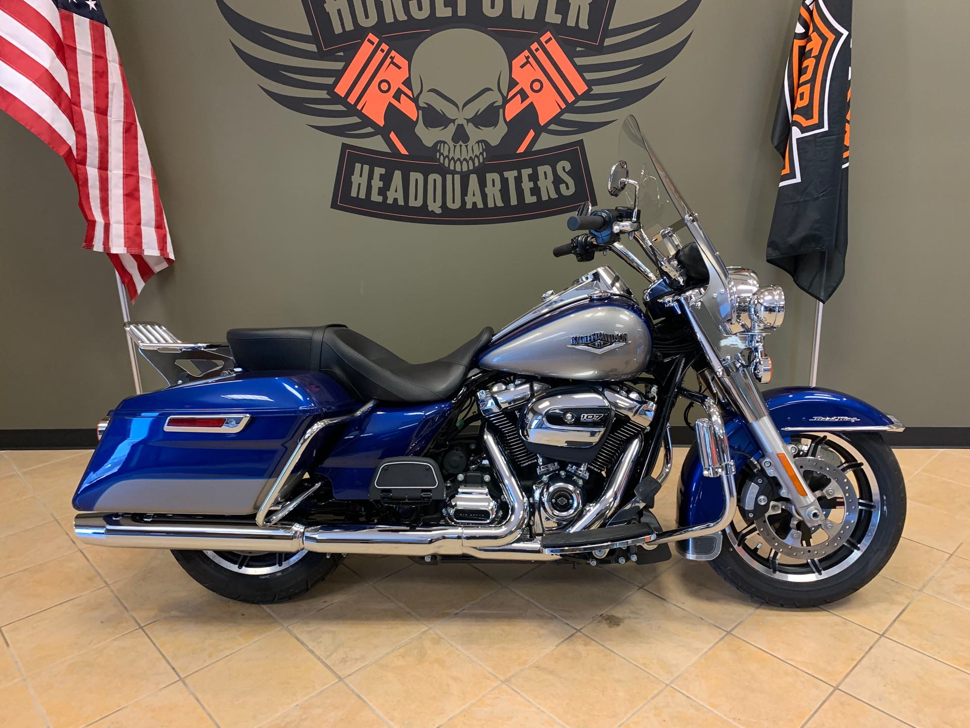 2017 Harley-Davidson Road King Base at Loess Hills Harley-Davidson