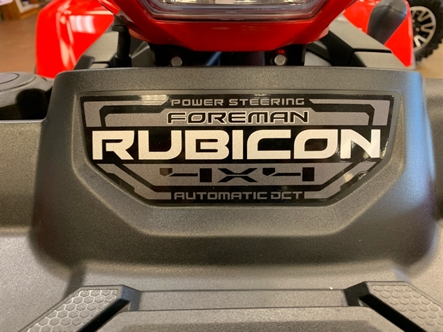 2020 Honda FourTrax Foreman Rubicon 4x4 Automatic DCT EPS at Mungenast Motorsports, St. Louis, MO 63123
