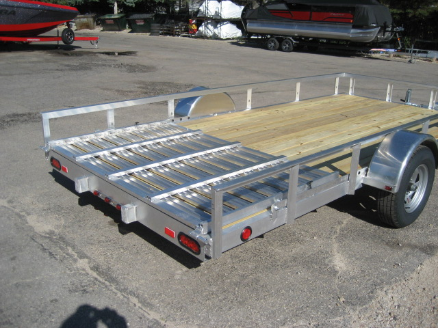2021 Trophy 7' x 14' TI - single axle at Fort Fremont Marine
