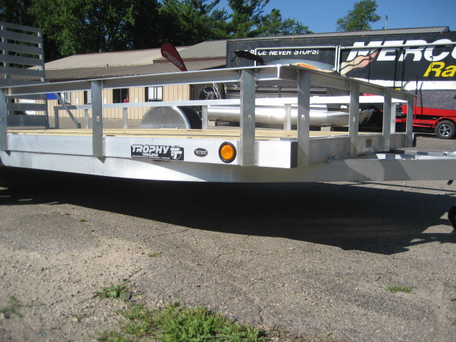 2019 Trophy 7' x 14' TI - single axle at Fort Fremont Marine Redesign