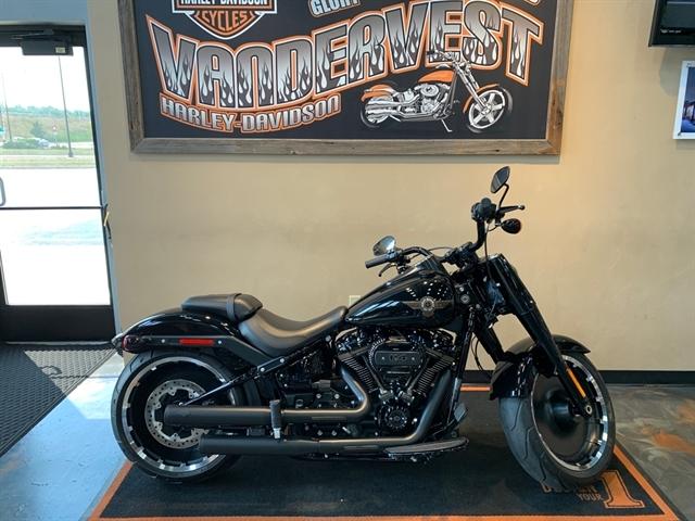 2020 Harley-Davidson Softail Fat Boy 114 30th Anniversary Limited Edition at Vandervest Harley-Davidson, Green Bay, WI 54303
