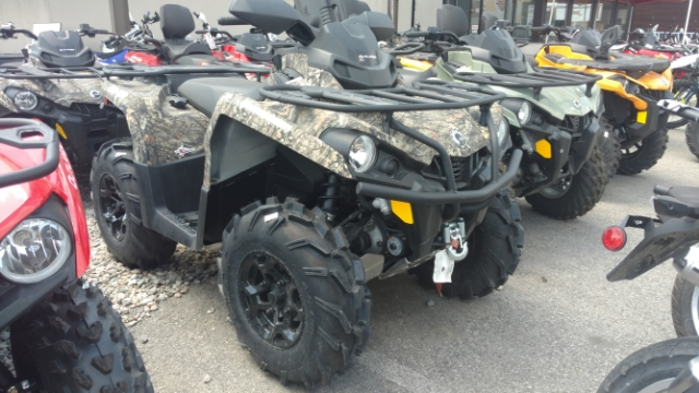 2018 Can-Am Outlander Mossy Oak Hunting Edition 450 Mossy Oak Hunting Edition 450 at Power World Sports, Granby, CO 80446