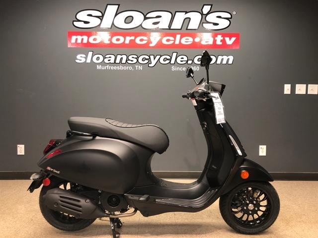 2020 Vespa Sprint 150 Notte at Sloans Motorcycle ATV, Murfreesboro, TN, 37129