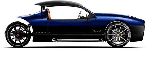 2021 Vanderhall Carmel Carmel GTS at Bumpus H-D of Memphis