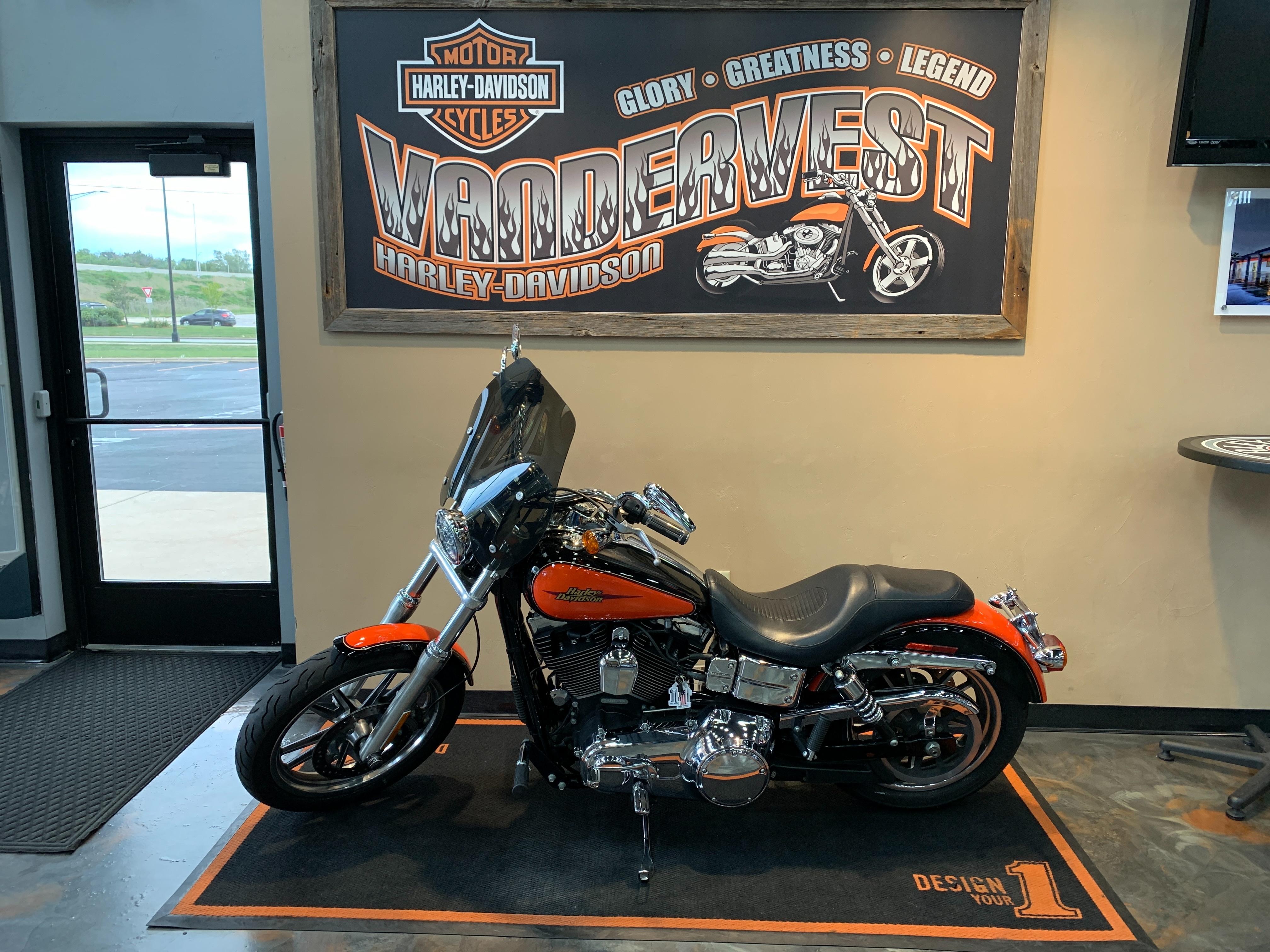 2009 Harley-Davidson Dyna Glide Low Rider at Vandervest Harley-Davidson, Green Bay, WI 54303