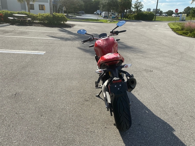 2019 Ducati Monster 821 at Fort Myers
