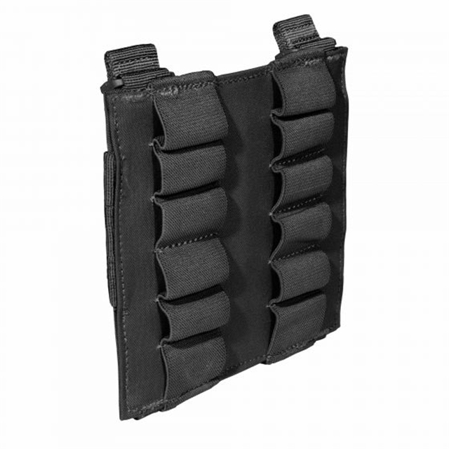2019 5.11 Tactical 12 Round Shotgun Pouch Black at Harsh Outdoors, Eaton, CO 80615