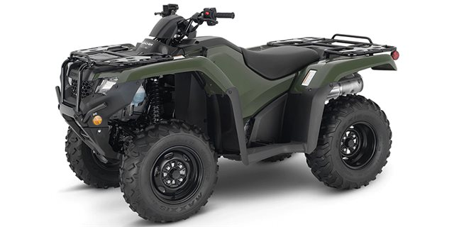 2021 Honda FourTrax Rancher 4X4 at Shawnee Honda Polaris Kawasaki