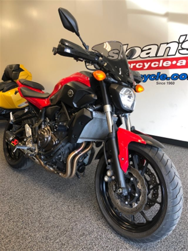 2017 Yamaha FZ 07 at Sloan's Motorcycle, Murfreesboro, TN, 37129