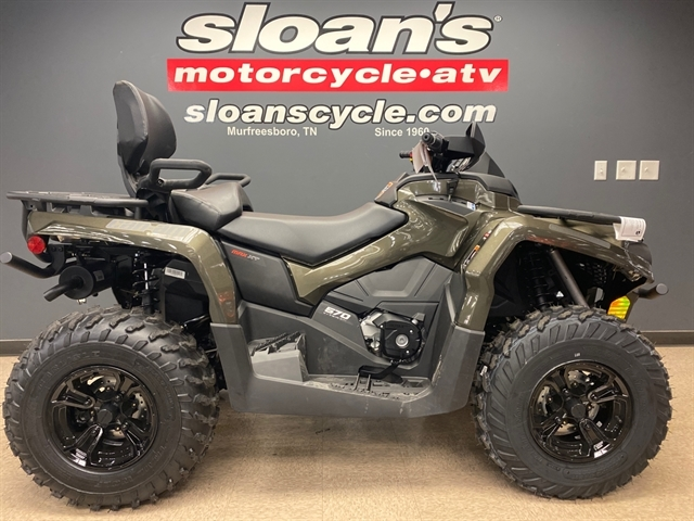2021 Can-Am Outlander MAX XT 570 at Sloans Motorcycle ATV, Murfreesboro, TN, 37129