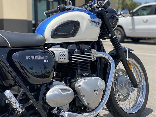 2019 Triumph Bonneville T100 Base at Fort Myers