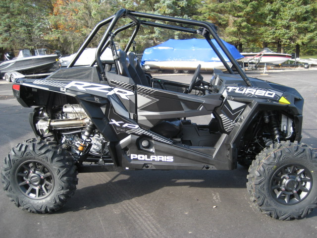 2020 Polaris RZR XP Turbo-Stealth Black at Fort Fremont Marine