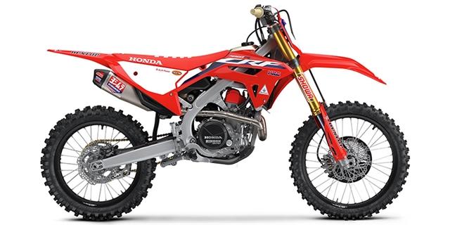 2021 Honda CRF 450RWE at Bay Cycle Sales