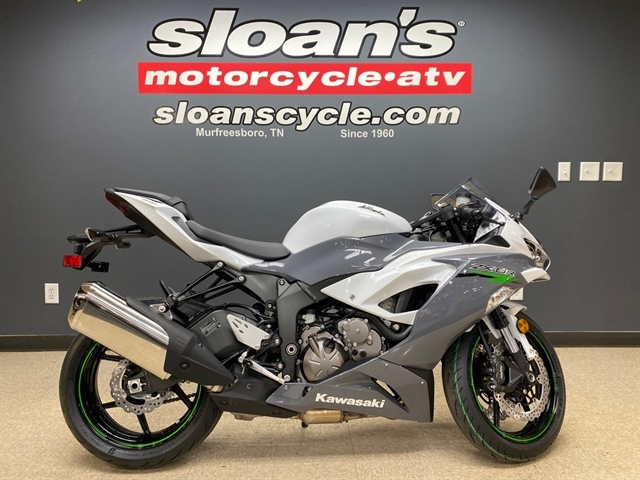 2021 Kawasaki Ninja ZX-6R ABS at Sloans Motorcycle ATV, Murfreesboro, TN, 37129