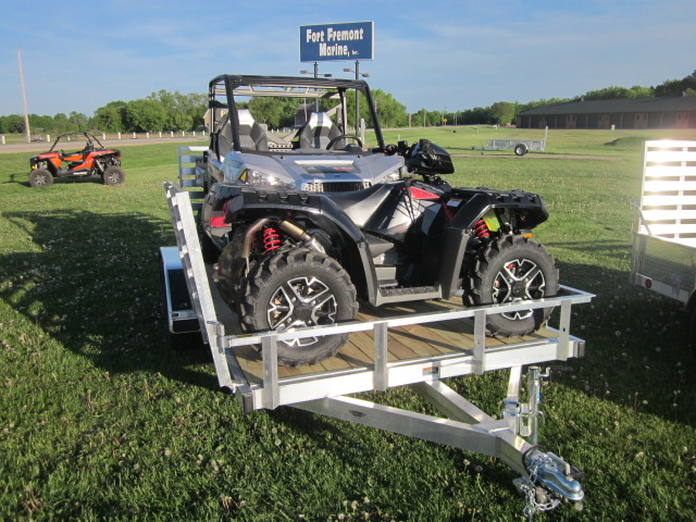2019 Trophy 7x14 SL TI-tandem axle w/side load at Fort Fremont Marine, Fremont, WI 54940