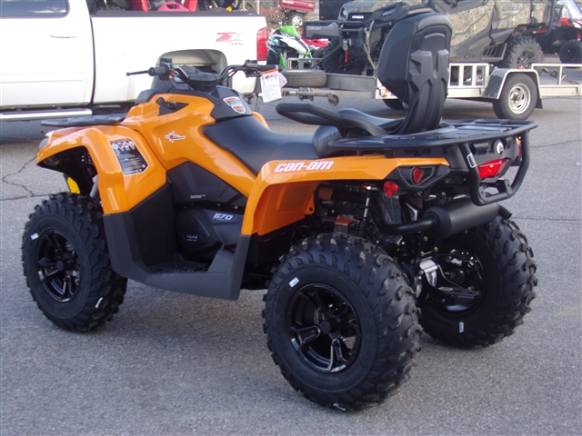 2019 Can-Am Outlander MAX 570 DPS $196/month at Power World Sports, Granby, CO 80446