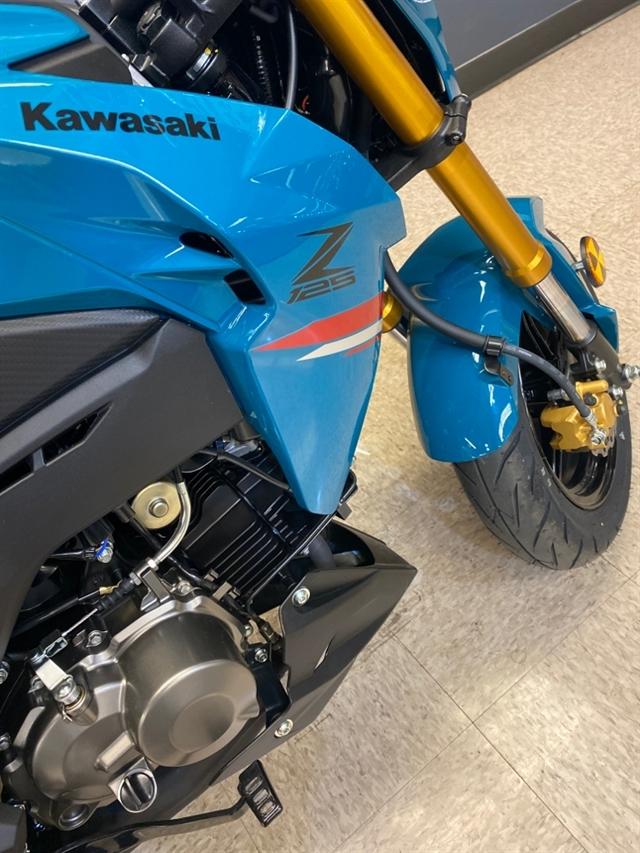 2021 Kawasaki Z125 PRO Base at Sloans Motorcycle ATV, Murfreesboro, TN, 37129