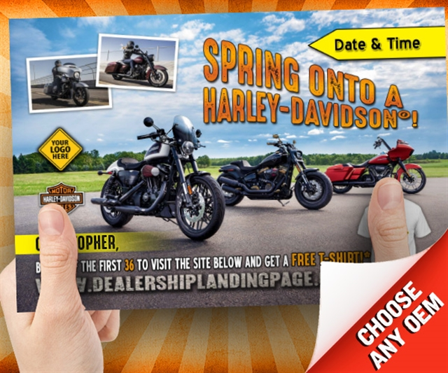 Spring Onto a Harley  at PSM Marketing - Peachtree City, GA 30269