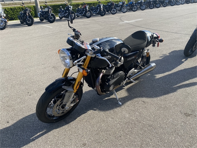 2021 Triumph Thruxton RS at Fort Myers