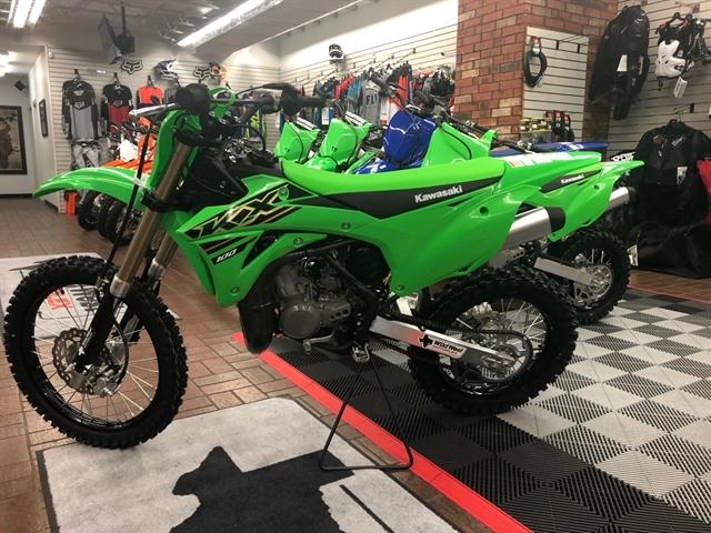 2021 Kawasaki KX 100 at Wild West Motoplex