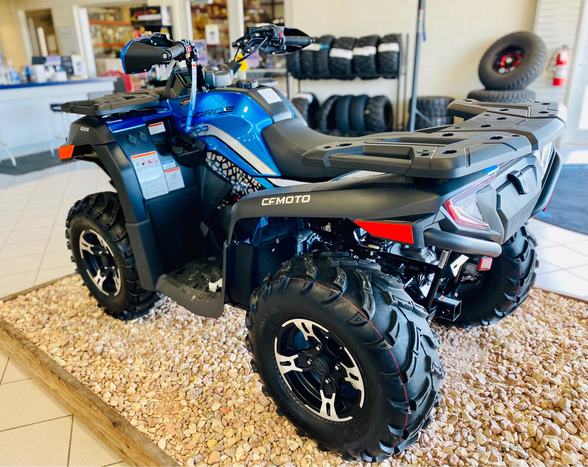 2021 CFMOTO CFORCE 600 at Rod's Ride On Powersports