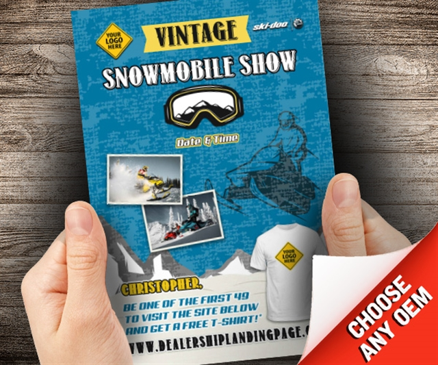 Vintage Snowmobile Show Powersports at PSM Marketing - Peachtree City, GA 30269