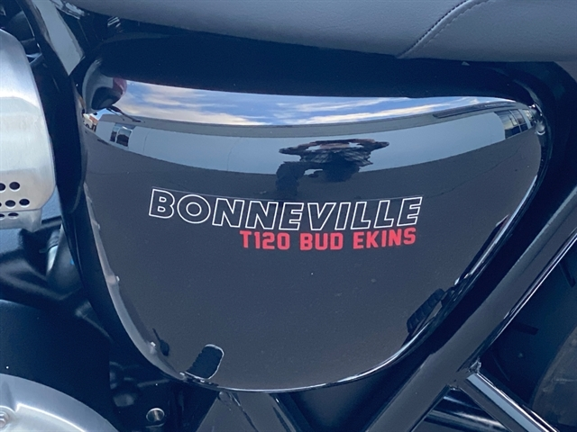 2020 Triumph Bonneville T120 Bud Ekins at Frontline Eurosports