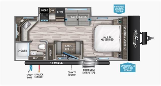 2021 Grand Design RV IMAGINE XLS 22MLE at Youngblood RV & Powersports Springfield Missouri - Ozark MO