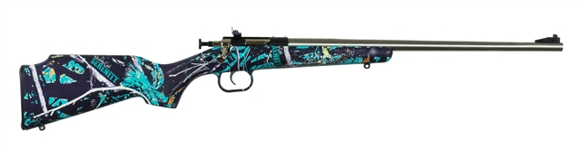 2019 Keystone Sporting Arms Crickett Synthetic Stock Muddy Girl Serenity - 22LR at Harsh Outdoors, Eaton, CO 80615