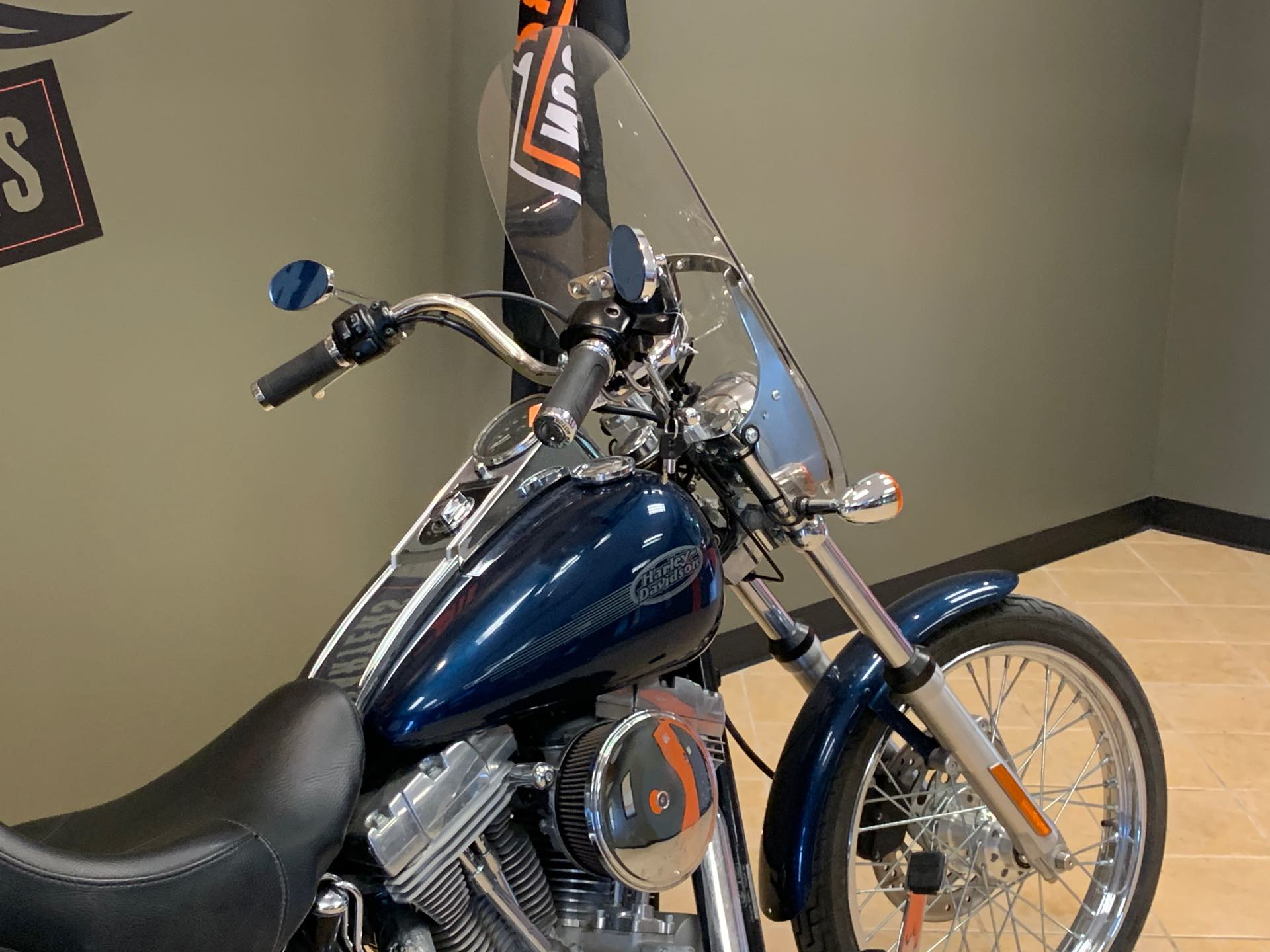 2002 HARLEY-DAVIDSON FXST at Loess Hills Harley-Davidson