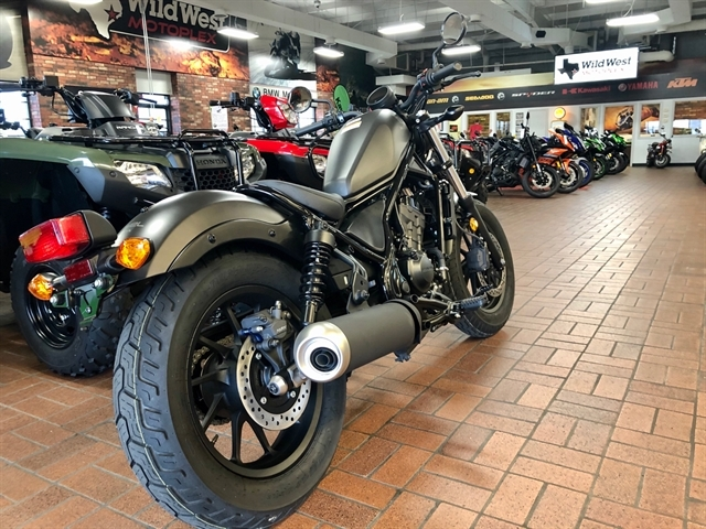 2019 Honda Rebel 300 at Wild West Motoplex