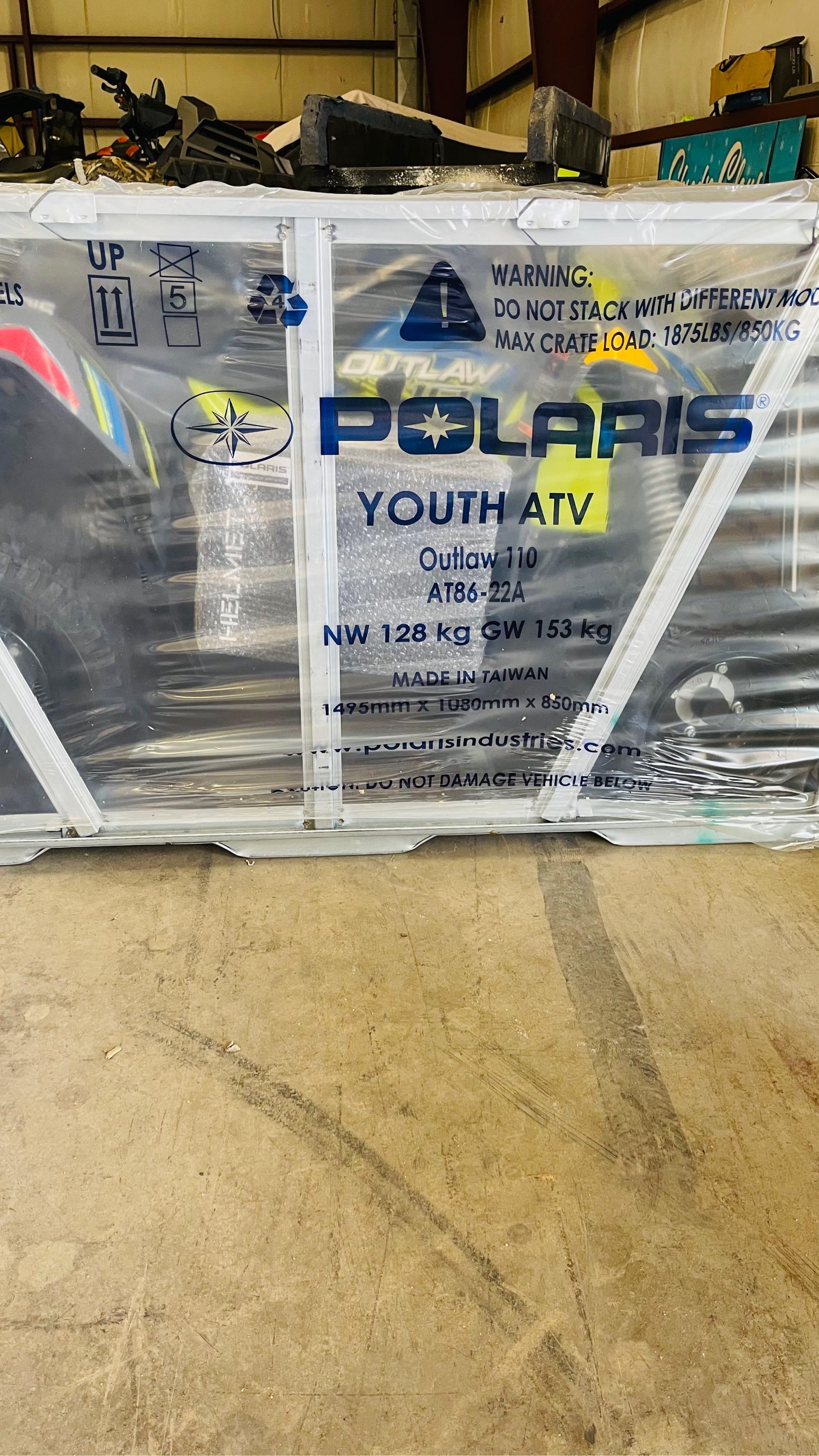 2021 Polaris Outlaw 110 EFI at Rod's Ride On Powersports