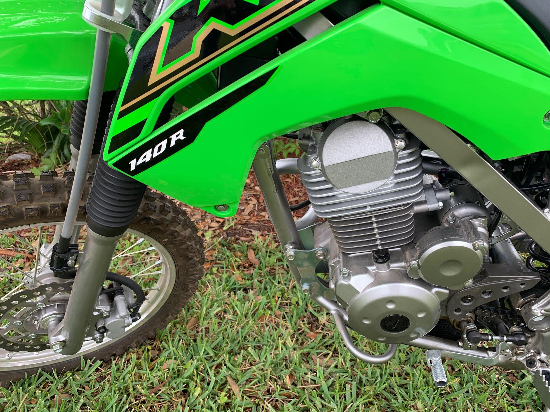 2021 Kawasaki KLX140R 140R at Powersports St. Augustine
