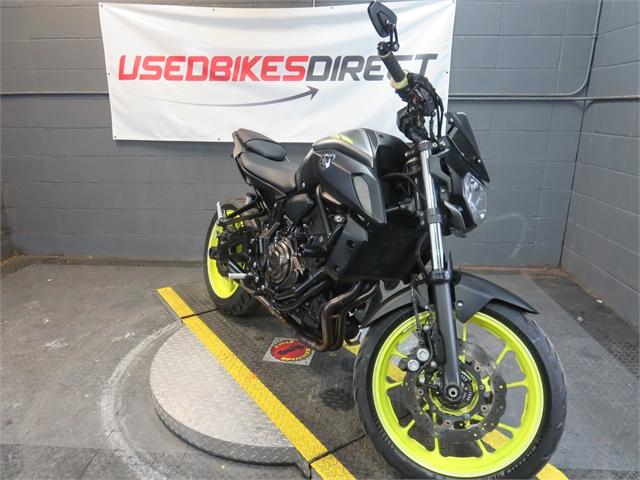 2018 Yamaha MT 07 at Used Bikes Direct