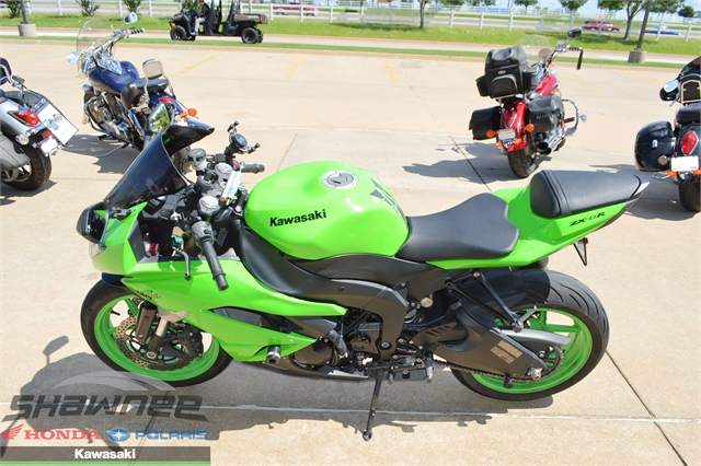 2009 Kawasaki Ninja ZX-6R at Shawnee Honda Polaris Kawasaki