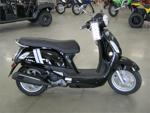 2021 Kymco A Town 50 at Brenny's Motorcycle Clinic, Bettendorf, IA 52722