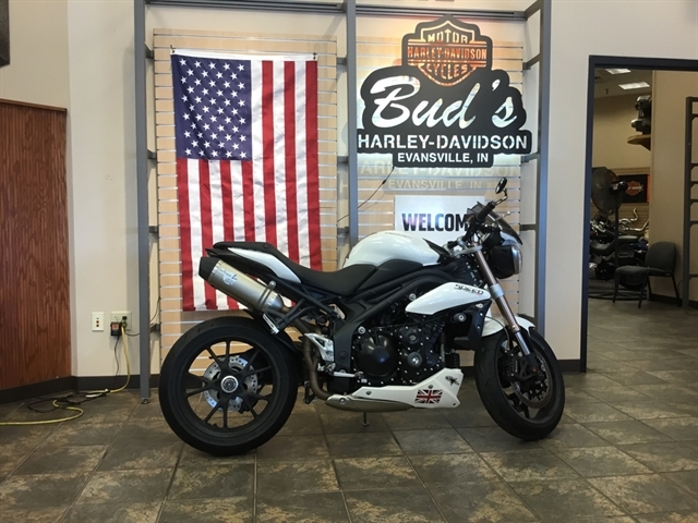 2011 Triumph Speed Triple at Bud's Harley-Davidson