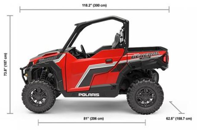 2019 Polaris GENERAL 1000 EPS Base at Pete's Cycle Co., Severna Park, MD 21146