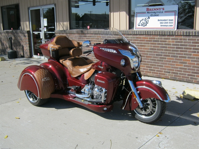 2018 Indian Motorcycle Roadmaster/ California Sidecar Trike at Brenny's Motorcycle Clinic, Bettendorf, IA 52722