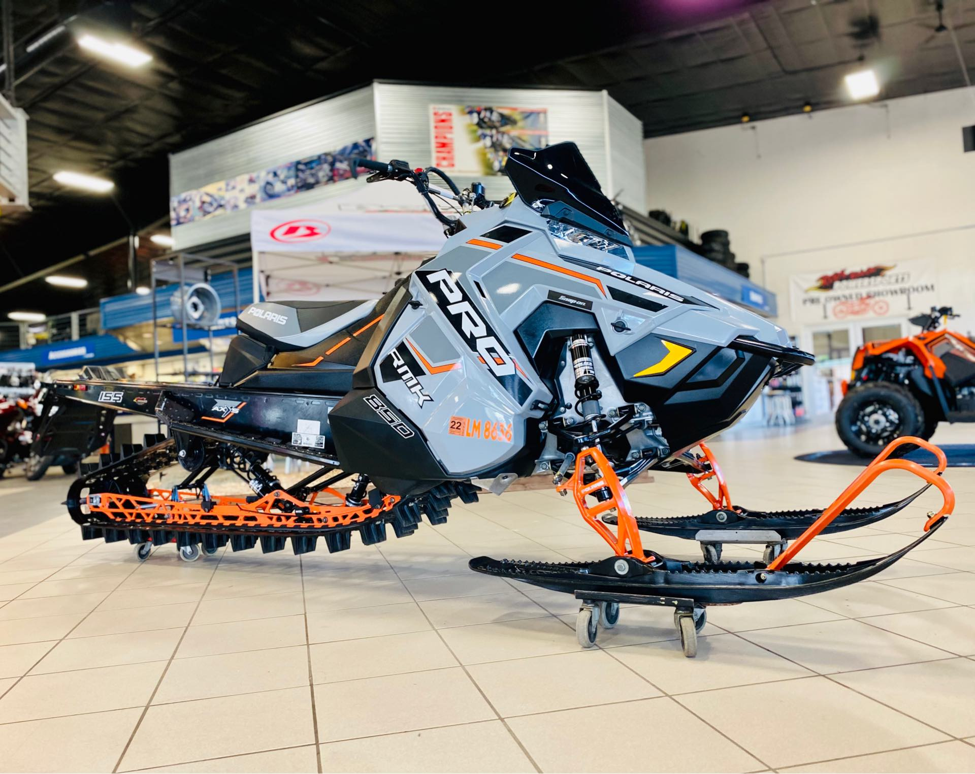2020 Polaris PRO-RMK 850 155 at Rod's Ride On Powersports