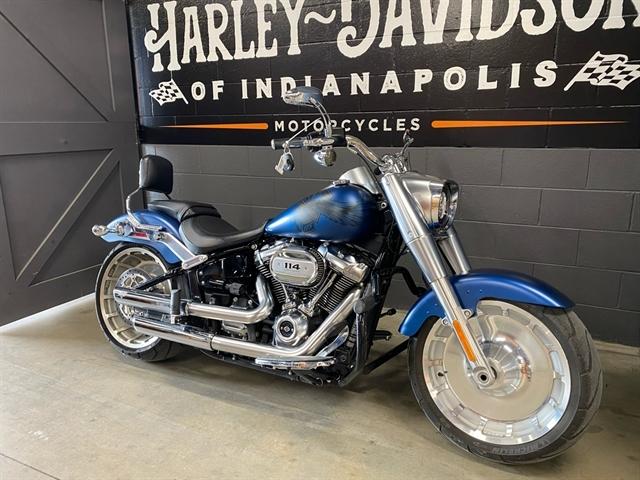 2018 Harley-Davidson Softail Fat Boy 114 at Harley-Davidson of Indianapolis