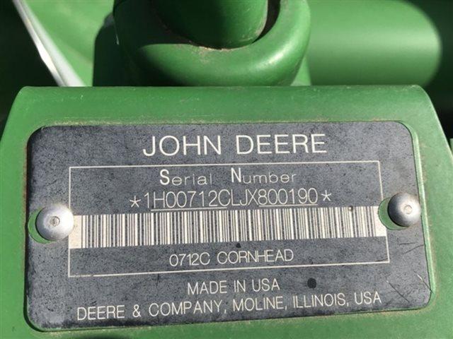 2018 John Deere 712C at Keating Tractor