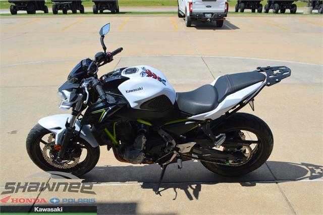 2017 Kawasaki Z650 ABS at Shawnee Honda Polaris Kawasaki